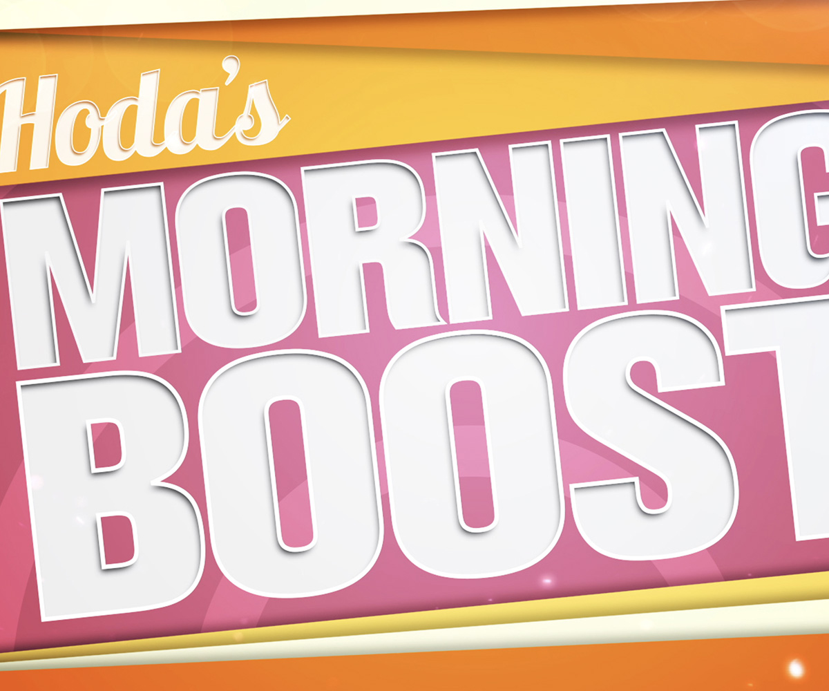 Hoda's Morning Boost