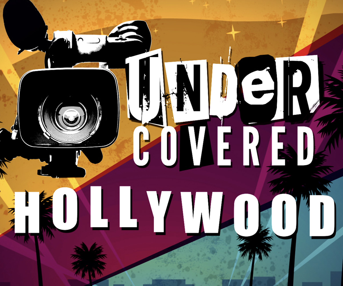 Hollywood Undercover Title Card
