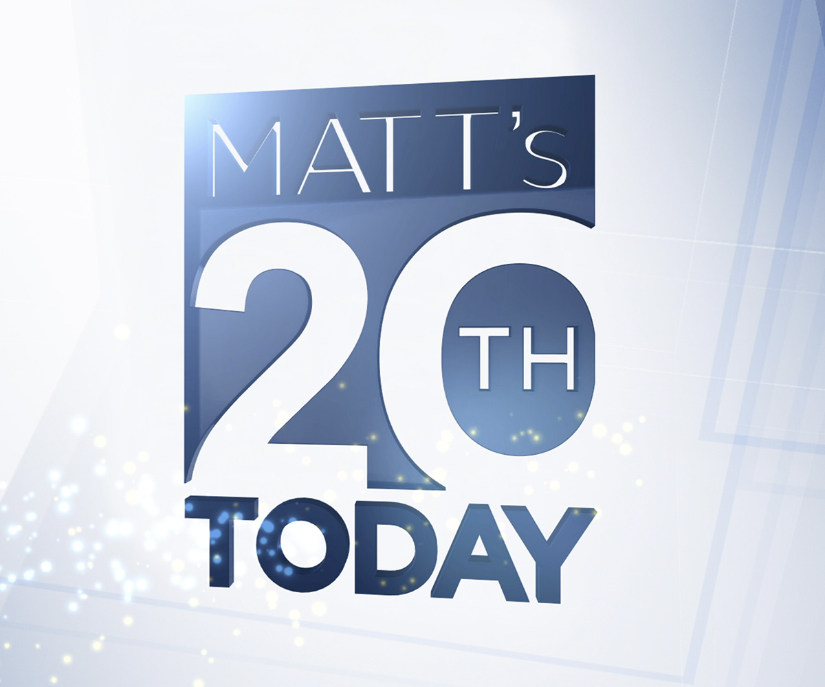 Matt Lauer's 20th Anniversary