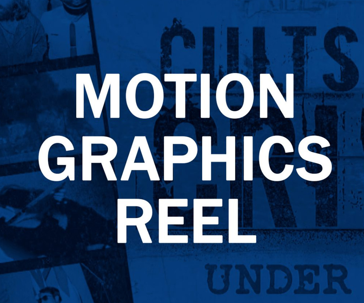 Motion Graphics Reel